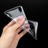 Colorful Shockproof Transparen Clear Soft TPU Cell Phone Case For For Infinix X551