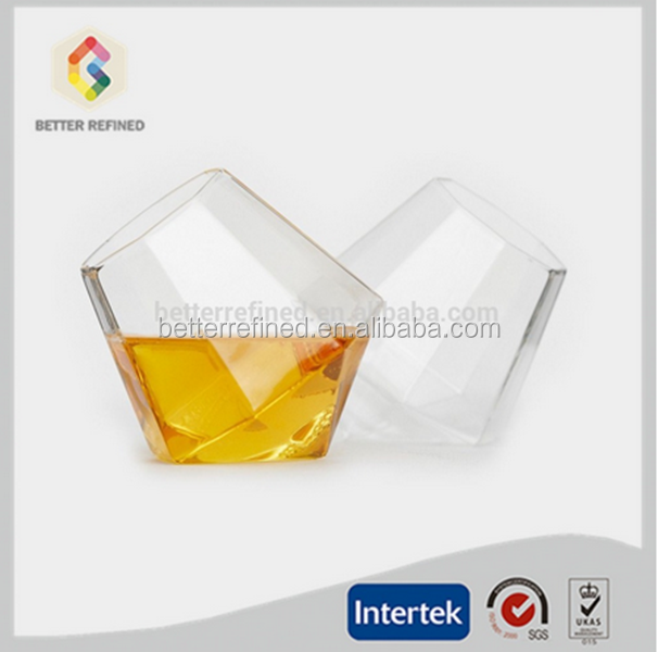 new design glass cup whiskey glasses whisky cup
