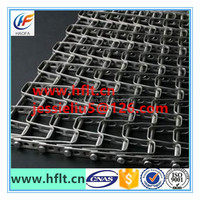 flex flat wire mesh belting alloy food grade belt/ stainless steel flat belt conveyor