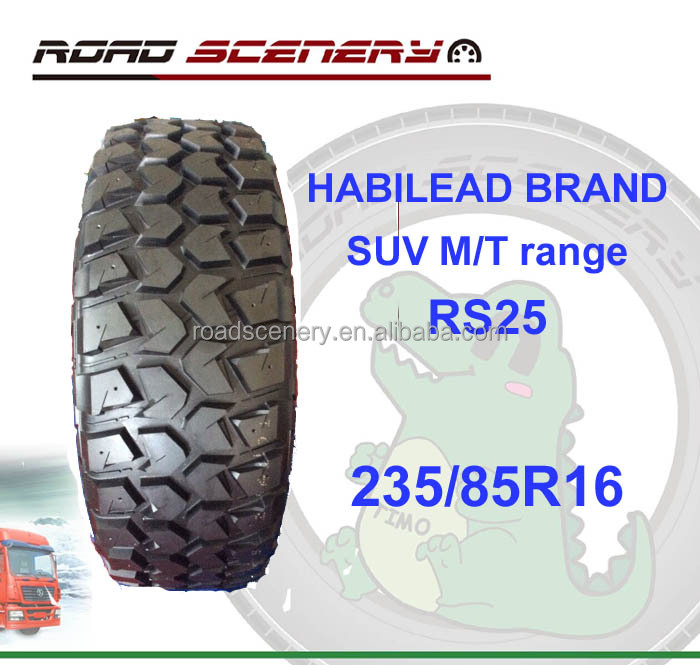 big discount priced 235/85R16 SUV mud tires