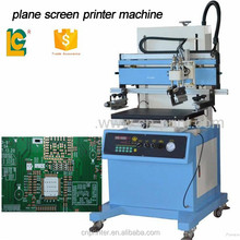 graphic screen printer machine LC-500P with vacuum printing circuit board