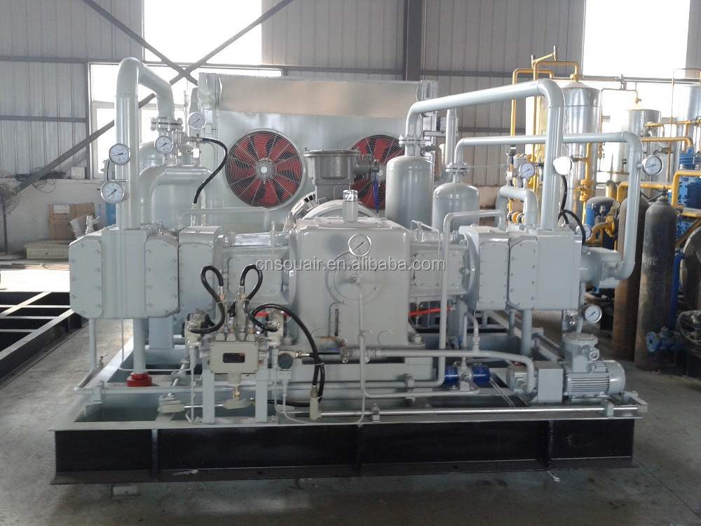 butane/propane/ethane/methanol/carbon monoxide gas compressor,oil free reciprocating medicine and experimental research