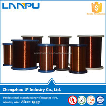 Class 180 Modified Epoxy/ Polyester Powder Coating Copper Round Wire