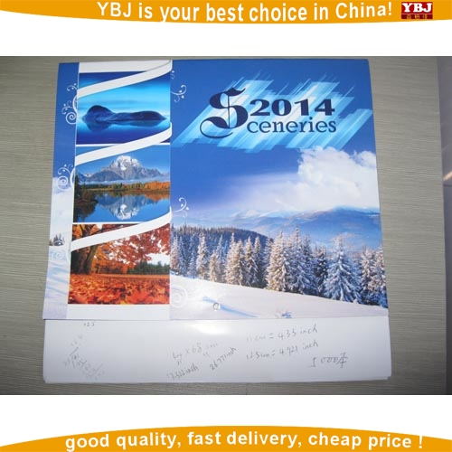 Instant Quote wall folding calendar