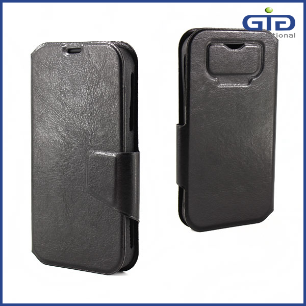 PU Case Universal Flip Cover for Mobile Phone
