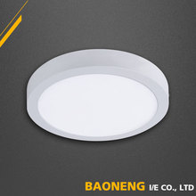 3000K / 4200K / 6500K Color Temperature 12W Round Surface Led Panel Light