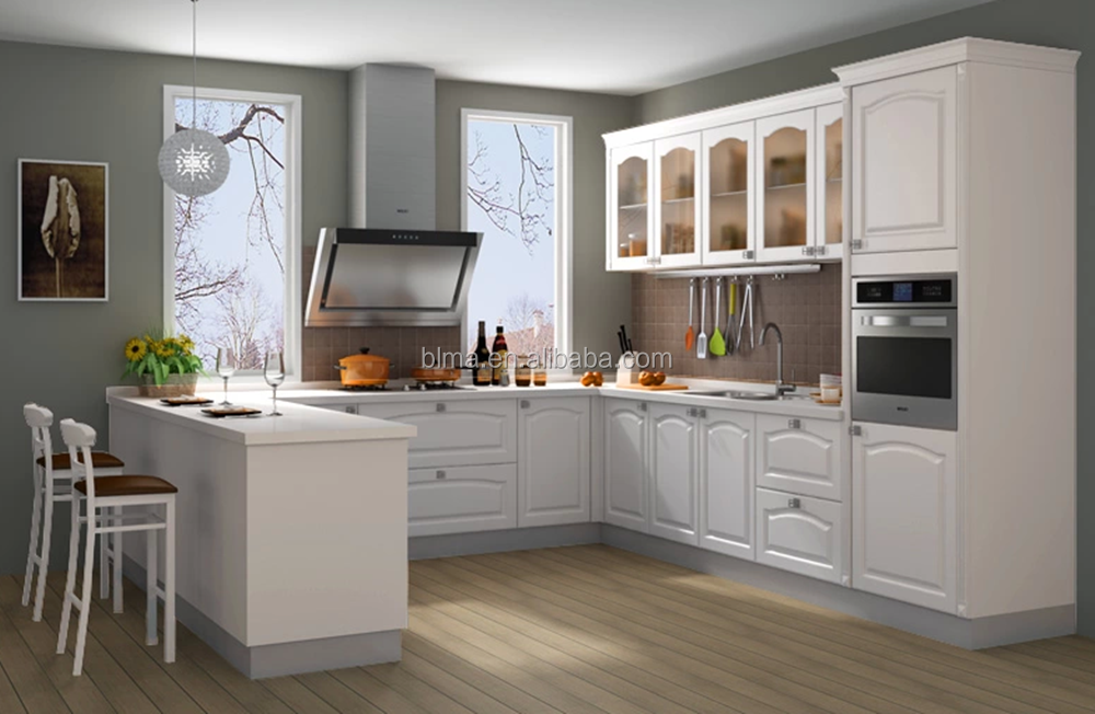Glass doors kitchen cabinet kitchen wall cabinets with for Glass kitchen wall units