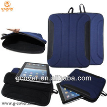Neoprene Bag for ipad laptop bag, foam padding zipper sleeve case for ipad