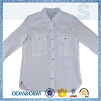 stable quality formal wear formal white blouses