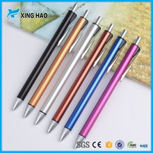 2016 new design metal ballpen fountain pen ballpen metal for promotional