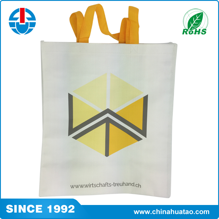 Fugang Clothing Packaging Reusable PP Woven Lamination Shopping Bags