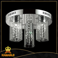 LED Lamp Elegant glass decoration unique entrance fancy Ceiling Lamp