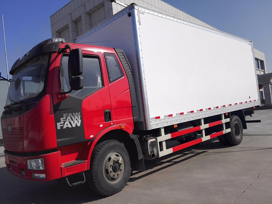 Anti impact force dry cargo truck box body parts for sale