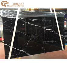Big Slab Chinese Nero Marquina Black Marble for Building Floor