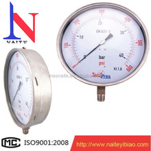 "10"" Industrial Large Diameter Pressure Gauge from china factory"