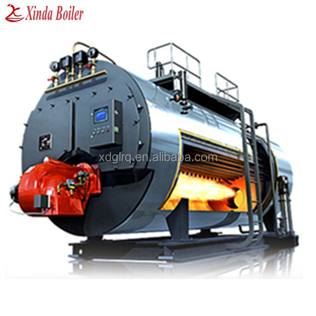 Industrial Diesel Oil Hot Water Boiler for Heating