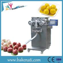 meat ball forming machine with steam cooker/Best performance stuffed fish ball making machine