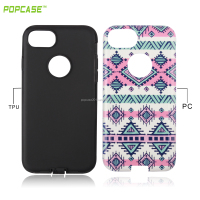 Universal PC+TPU bumper case for mobile phones for iphone 7