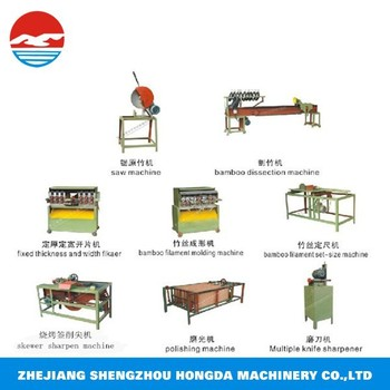 round disposable bamboo chopstick making machine