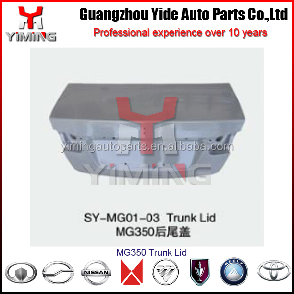 MG350 Trunk Lid