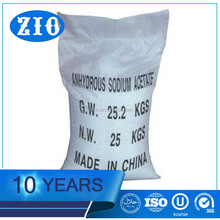 2017 Hot Sales sodium acetate crystal c2h3o2na/sodium acetate for sale