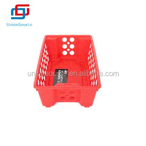 Large Size Red Rectangular Plastic Hollow Basket Buy