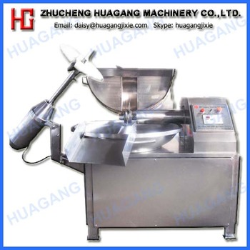 Good quality stainless steel high speed bowl cutter meat chopper