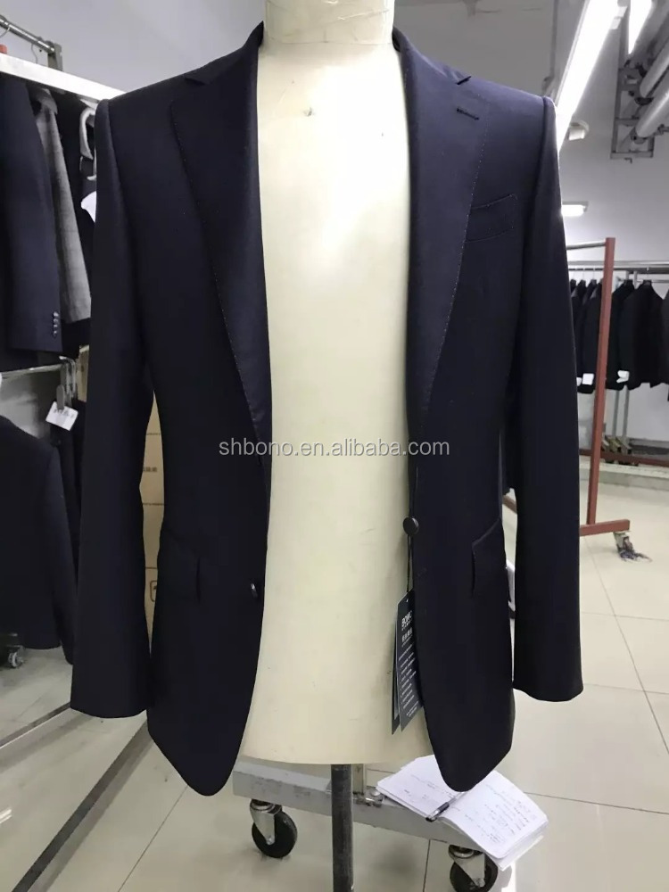 2017 Top quality full canvas suit for men w/bespoke handmade suit With CMT price