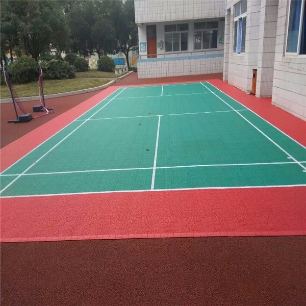PP interlock standard badminton sport court