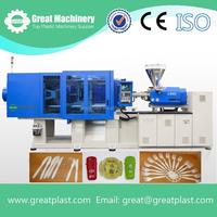 Automatic and Horizontal Style injection molding machine for making plastic blows/plates/cups/spoons