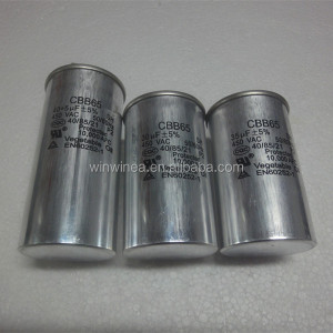 CBB65 round capacitor for air conditioner