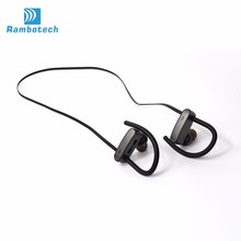2017 Bluetooth earbuds ear hook lightweight wireless earphone headphone bluetooth headset music earpiece with mic RU10