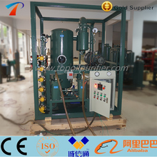 1800 LPH cable oil dehydration degas plant / green color transformer oil filtration machine