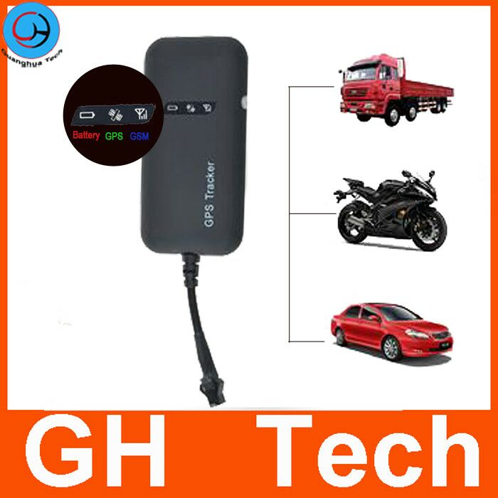 GH 9V 12V 24V 48V manual gps sms gprs tracker vehicle tracking system with Remote Fuel Engine Control