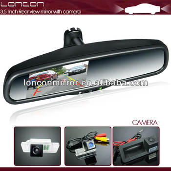 4.3 inch rear view with touch panel, parking sensor, adjustable parking line special for Dodge, Ford,Toyota