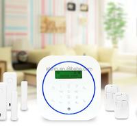 Hot LCD Gsm Wifi Alarm System