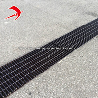 Pit cover metal grid hot dipped galvanized drainage grate steel grating ditch cover