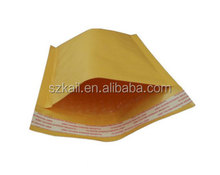 Top quanlity kraft paper mailing air bubble bag padded envelope with custom printing
