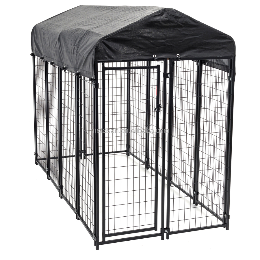Heavy duty custom portable outdoor dog cages for sale