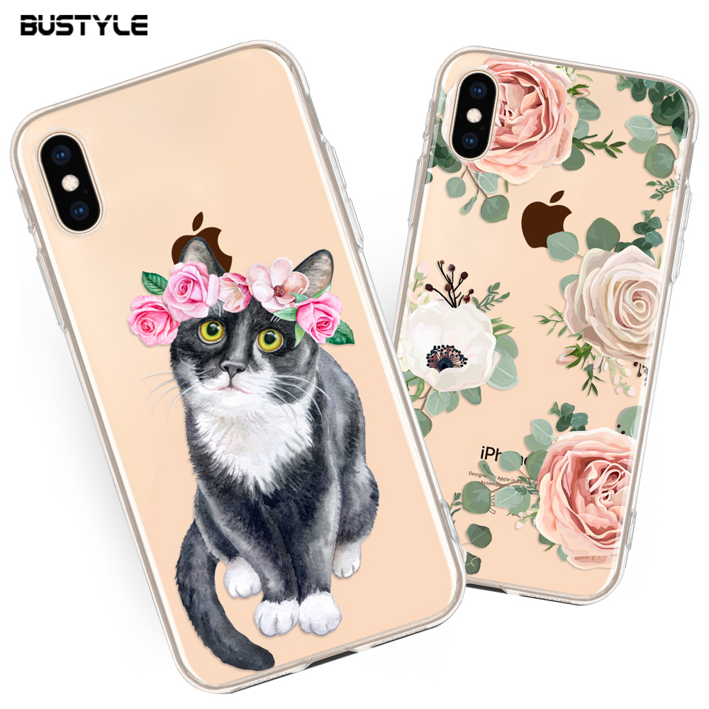 Consumer Electronics Accessories Customized Printing Mobile Back Cover For iPhone 6/7/8 Plus,For iPhone X Mobile Phone Case