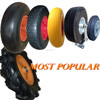 250mm pneumatic wheel for wooden tool cart