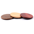 NW170 Solid Wood Surface Qi Wireless Charger Charing Pad Compatible with QI Enabled Devices