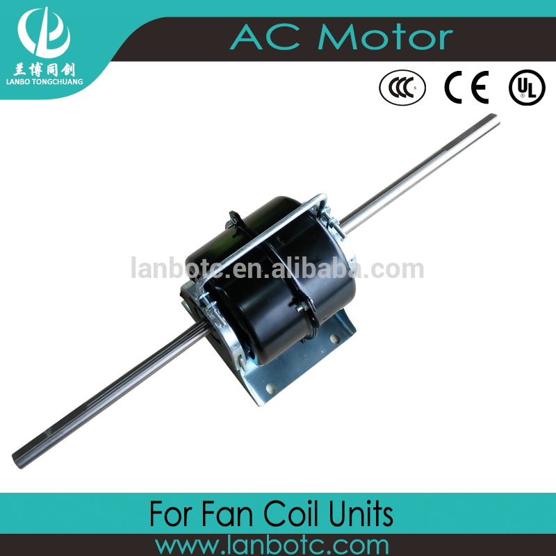 Good price of Multi- Speed AC Electric Fan Coil Motor for Air Conditioner Cross Flow Fan Motor
