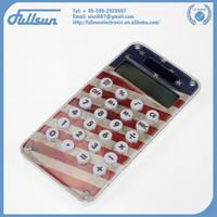 10 Digits plastic custom made calculator FS-2035