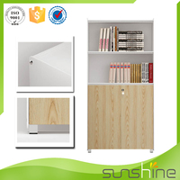 Guangzhou Sunshine Cheap Wood Office File Storage Cabinets For Small Office