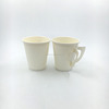 food safety flexo printing paper cup with handle for coffee