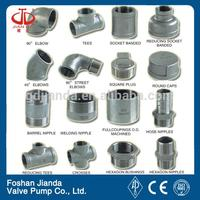 cam grooved quick connect pipe fittings
