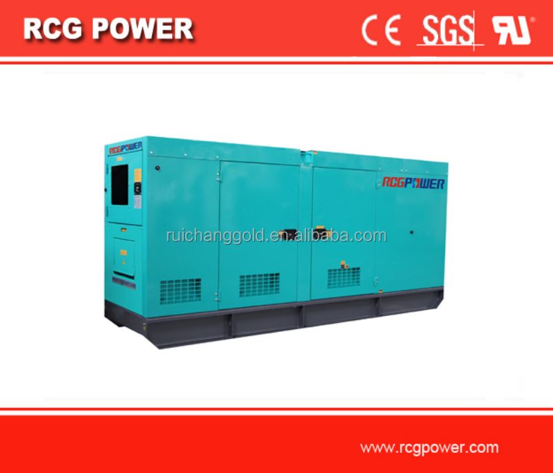 125kva diesel generator set powered by cummins engine