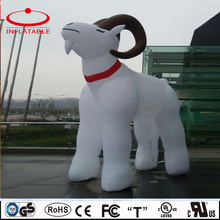 White color inflatable giant goat, inflated decoration cartoon goat