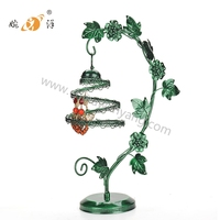 Custom Tree Shaped Necklace earring Jewelry Metal Display Stand
